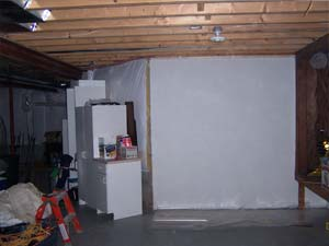 Before Image of Basement Reconstruction